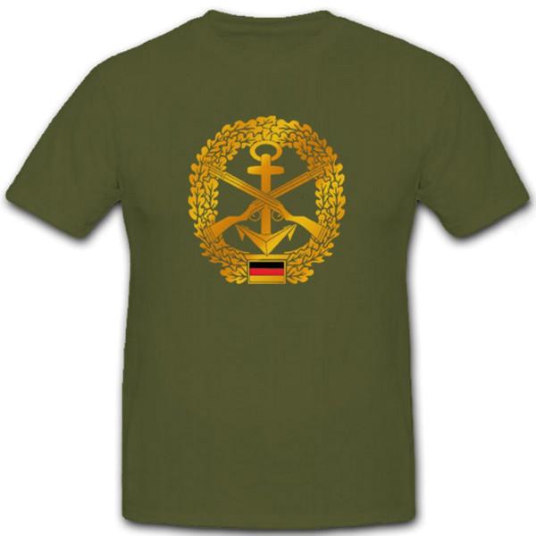 Marinesicherung Marineschutzkräfte Barettabzeichen - T Shirt #6947
