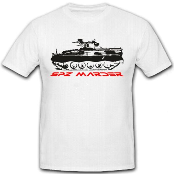 SPZ Marder Schützenpanzer Marder Bundeswehr - T Shirt #7276
