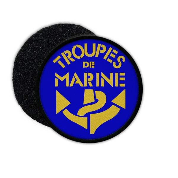 Patch Troupes de marine Battle of Bazeilles French Army Badge # 33639