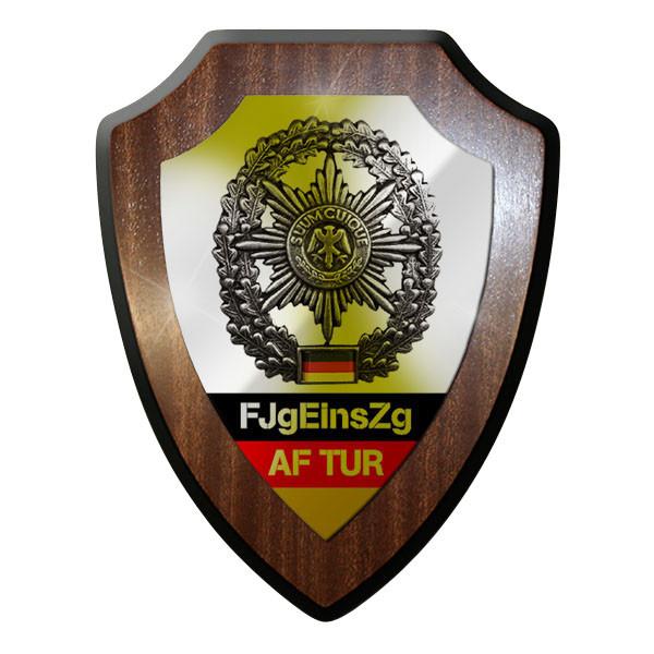 Wappenschild / Wandschild - FJgeinsZg AF TUR Feldjäger Einsatz Zug MP - #12078