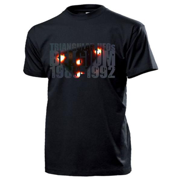 Triangular UFOs Belgium 1989-1992 Belgische UFO Welle Foto Bild - T Shirt #14210