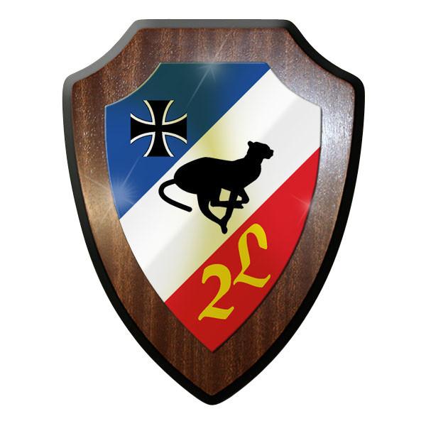 Wappenschild - 2 FlaLehrRgt 6 Flugabwehr Regiment Bundeswehr Bw Emblem - #11736