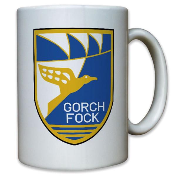 Gorch-Fock Schulschiff Schiff Bundesmarine Marine Bundeswehr - Tasse #12338