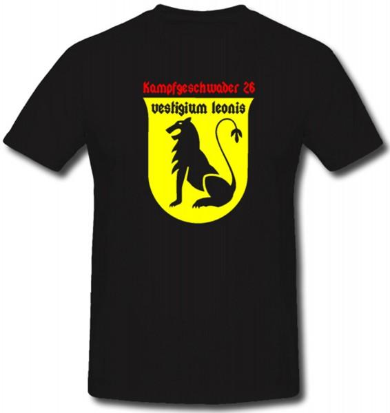 Kampfgeschwader 26 Luftwaffe - T Shirt #1057