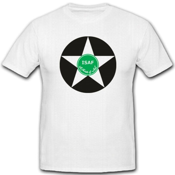 Isaf Stern War Einheit Nato Afghanistan International Security T Shirt #2041