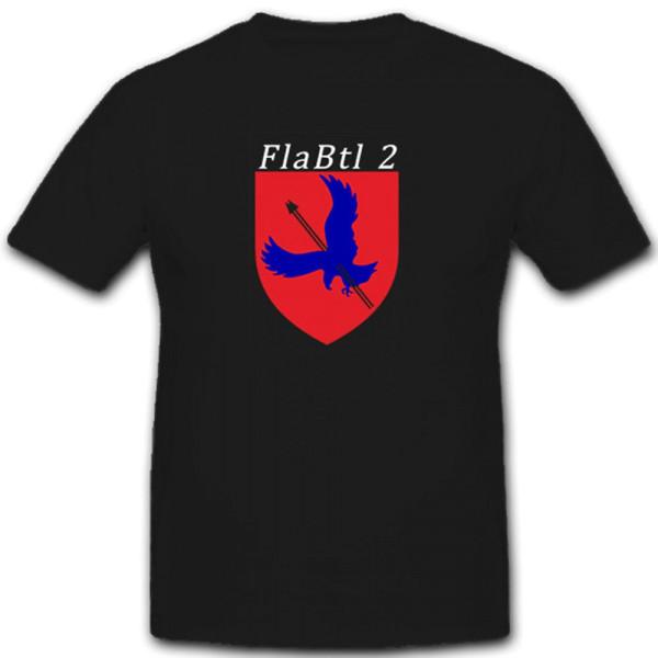 FlaBtl2 Flugabwehrbataillon Flugabwehrregiment Bundeswehr - T Shirt #7455