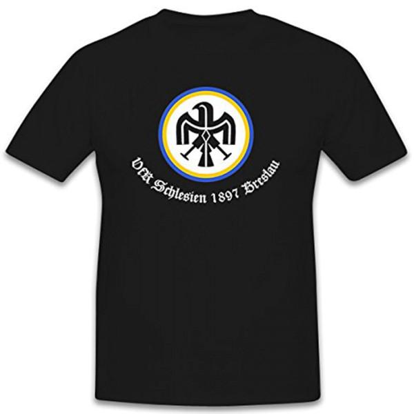 VfR Silesia 1897 Wroclaw club for grassroots football Blue - T Shirt # 12390