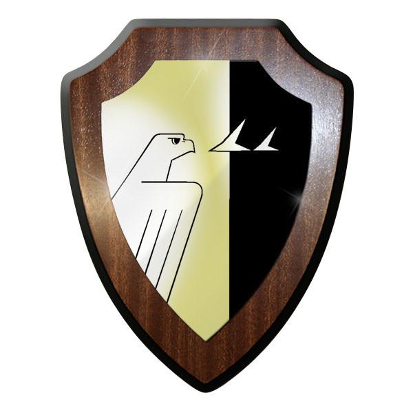 Wappenschild / Wandschild - FmReg 33 Fernmelde Regiment 33 Bundeswehr #11925