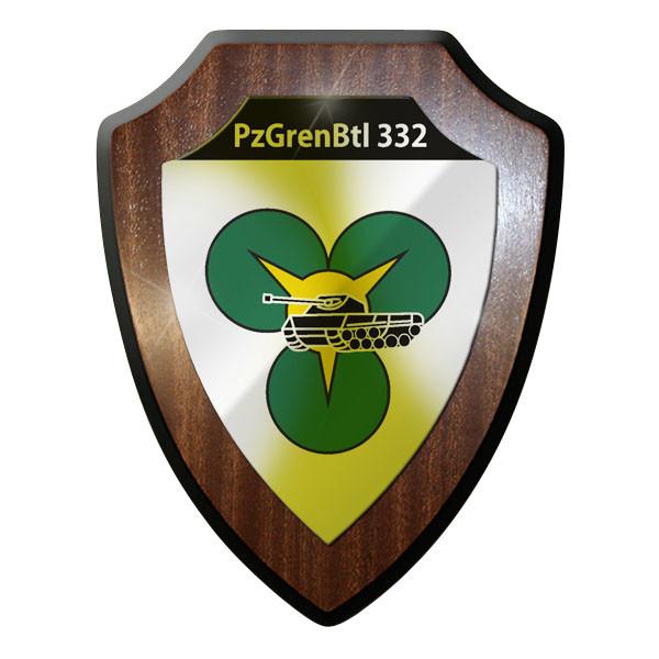 Wappenschild PzGrenBtl 332 Panzer Grenadier Bataillon Grenadiere Soldaten #9353
