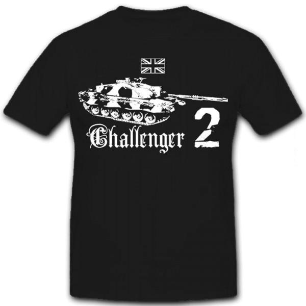 Challenger 2 Main Battle Tank Royal Army United Kingdom Military - T Shirt # 12598