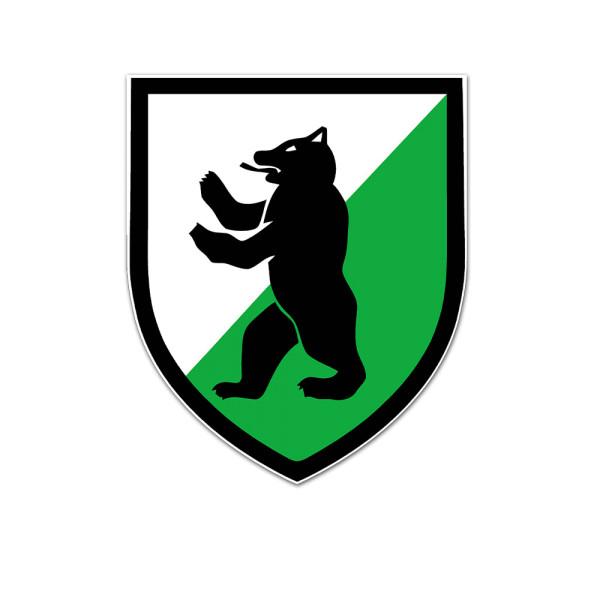 PzGrenBtl 7 sticker Panzergrenadier Bataillon coat of arms Bundeswehr 7cm # A5559