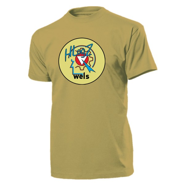 HLogZ WELS Bundesheer Österreich Wappen Abzeichen Militär Emblem -T Shirt #11095