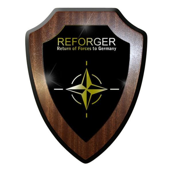 Wappenschild -NATO Bw deutsche Streitkräfte Soldaten Heimkehr Wappen #8839