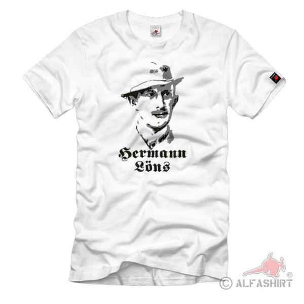 Hermann Löns Journalist Writer Myth Heath Poets T Shirt # 1107