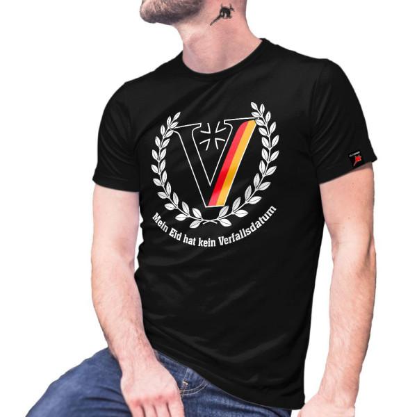 VETERAN Mein Eid hat kein Verfallsdatum Soldat ISAF KFOR Mali T-Shirt #27817