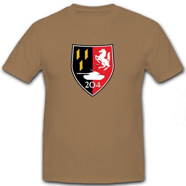 PzBtl 204 Tank Battalion Panzer Battalion Bundeswehr Bund Bw - T Shirt # 12160