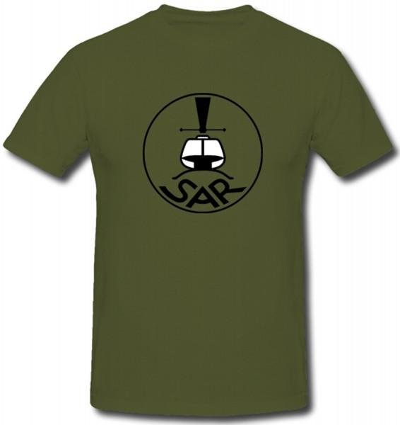 Bundeswehr Luftwaffe Sar Search And Rescue Hubschrauber - T Shirt #1373