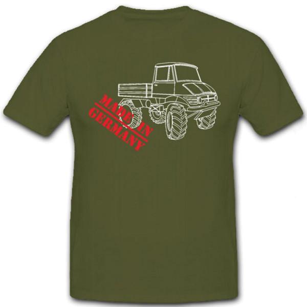 Universal Motor Gerät Made in Germany Bundeswehr LKW U404 - T Shirt #7156