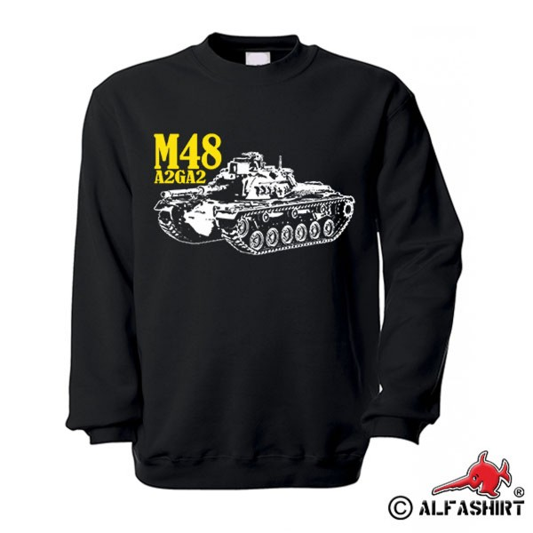 M48A2GA2 Bundeswehr Tank M48 Patton A2GA2 Medium Tank 90 mm Sweater # 15748