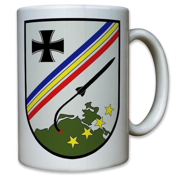 Wappen Flarak 5 21 Bundeswehr Flugabwehr Raketen Soldaten - Tasse #11807