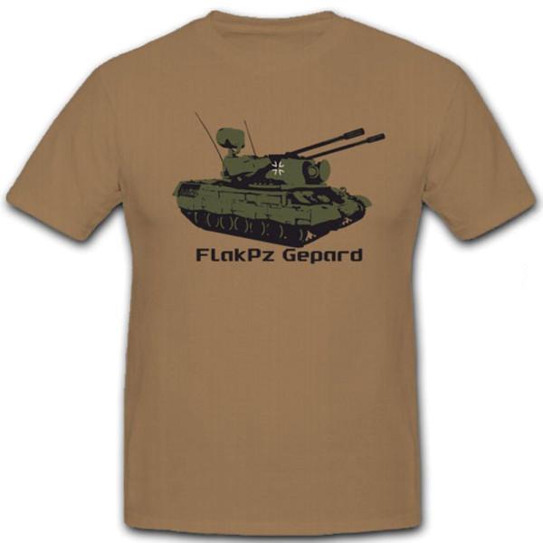 FlakPz Gepard Bundeswehr Tank Flugabwehr Panzer - T Shirt #5868