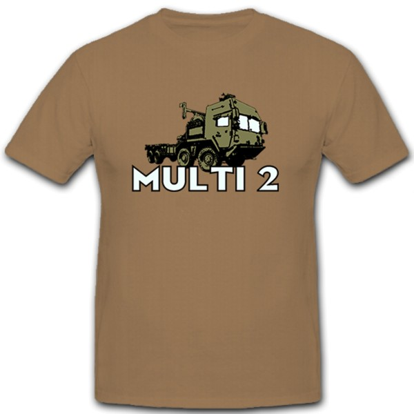 15 t changeable loader system Multi 2 Truck Military Vehicle Transporter - T Shirt # 10684