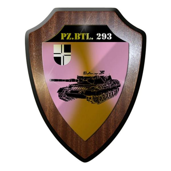 Wappenschild / Wandschild / Wappen -Pzbtl 293Kompanie Markt Bundeswehr #8025