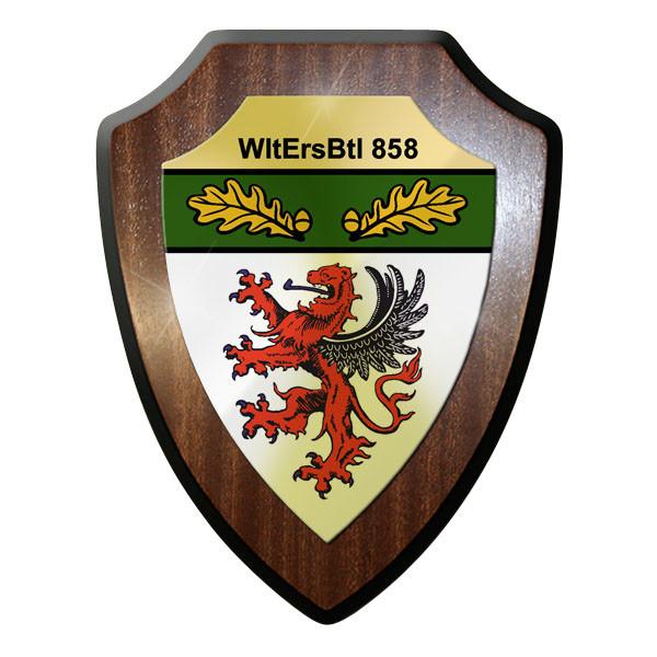 Wappenschild WltErsBtl 858 Wehrleitersatzbataillon Bundeswehr Deutschland #11997