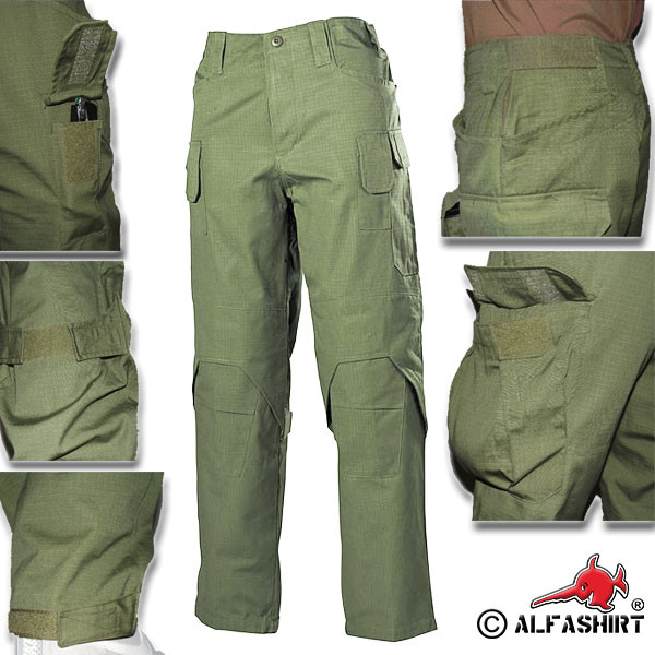 Commando Combat Pants Trousers Tactical BDU Uniform Rugged Rip Stop Clothing # 16025