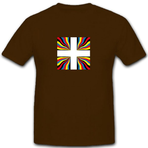Ordonanzfahne der Schweizergarde Schweizer Garde Garden - T Shirt #11225