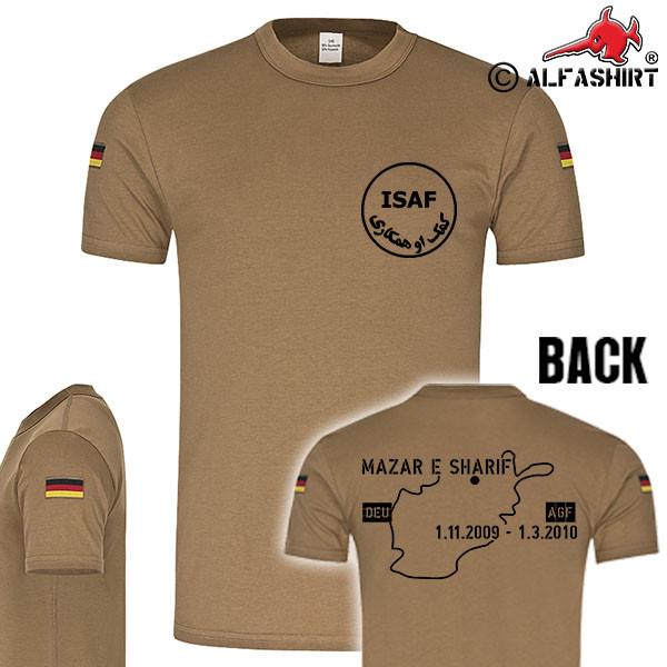 BW Tropenshirt ISAF Mazar e Sharif 2009 2010 Original Tropenshirt #15740