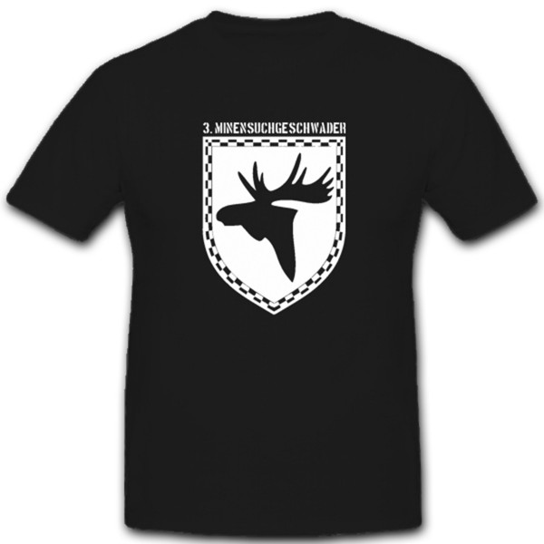 Ostpreußen Heimat Wappen Elch Elchschaufel Minensuchgeschwader T Shirt #1490