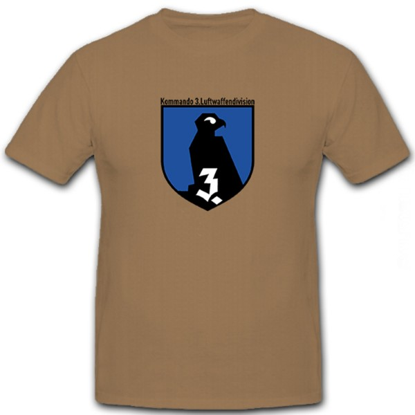 Kommando 3 Luftwaffendivision - T Shirt #6066