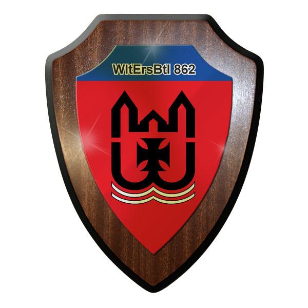 Wappenschild - WltErsBtl 862 Wehrleitersatzbataillon Bundeswehr #11994