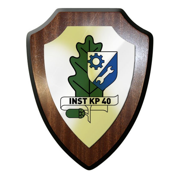Wappenschild - Inst Kp 40 Instandsetzungs Kompanie 40 Bundeswehr - #11738