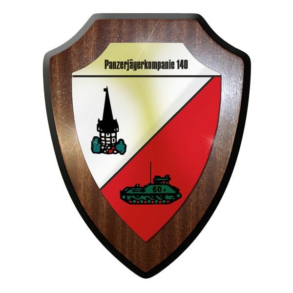 Wappenschild - PzJgKp 140 Panzer Jäger Kompanie Panzerjägerkompanie 140 - #11715