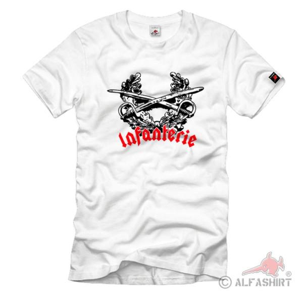 Infanterie Bundeswehr Königin aller Waffen Truppe Einheit - T Shirt #1111
