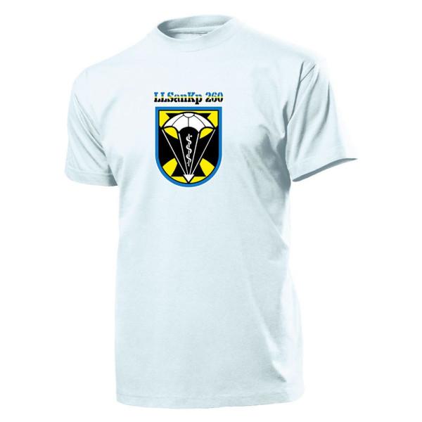 LLSanKp 260 - Bundeswehr Germany Wall Sign Military Unit - T Shirt # 11194