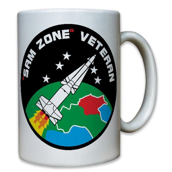 Sam Zone Veteran Militär Nuklear Atomwaffe Atomare Waffe Wappen - Tasse #8557