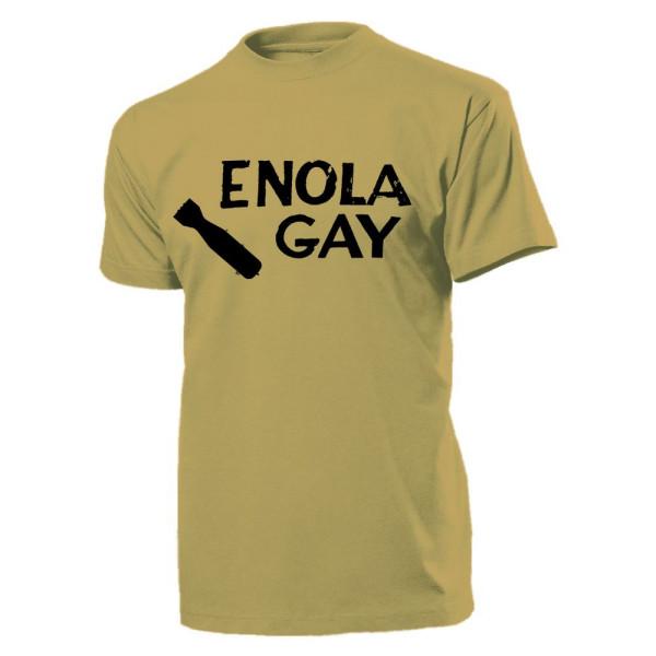 Enola Gay Little Boy B 29 Superfortress Flugzeug Atombombe - T Shirt #11232