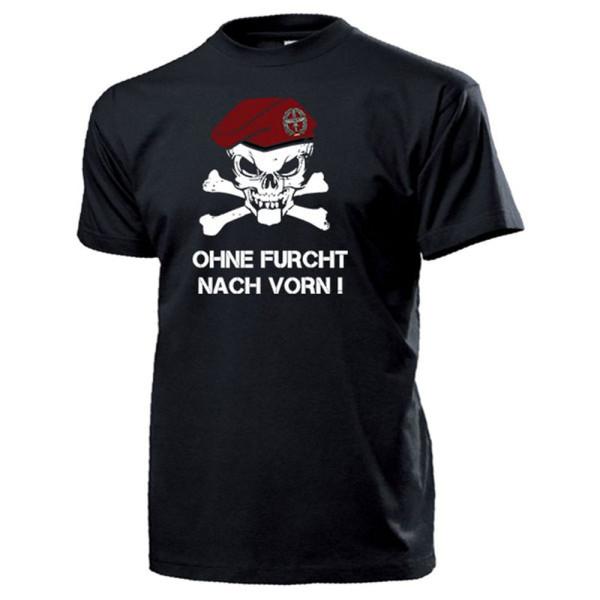 Heeresflieger BW Barett Schädel_Bundeswehr Heer Ohne Furcht - T Shirt #14329