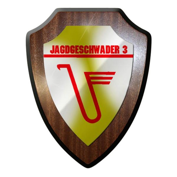 Wappenschild / Wandschild / Wappen - Jagdgeschwader 3 Militär Udet #7068