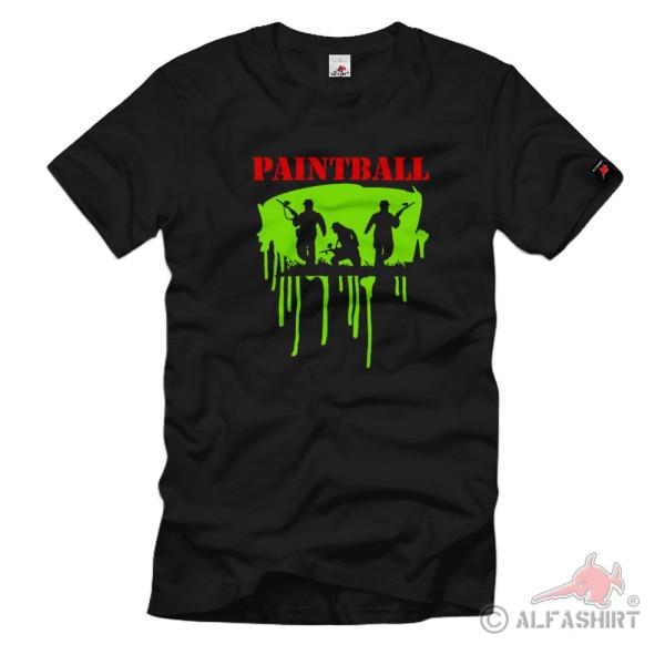 Paintball Fun Game Gamble Color Game - T Shirt # 117