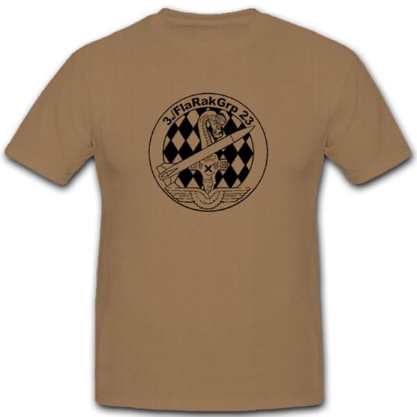 3. FlaRakGrp 23 Luftwaffe Bundeswehr Bund Bw Wappen Abzeichen - T Shirt #9374