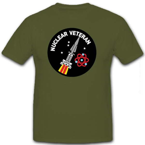 Nuclear Veteran Rakete Waffe Atom Atomwaffe Nuklearwaffe - T Shirt #8472