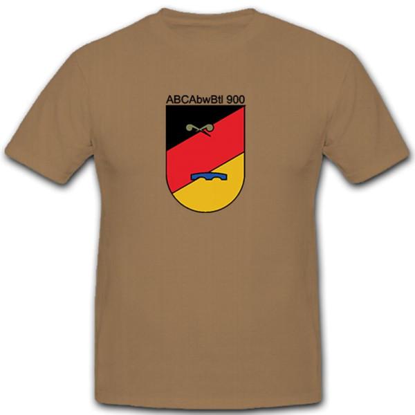ABCAbwBtl 900 Abwehr Bataillon Bundeswehr Bund Bw Wappen - T Shirt #12083