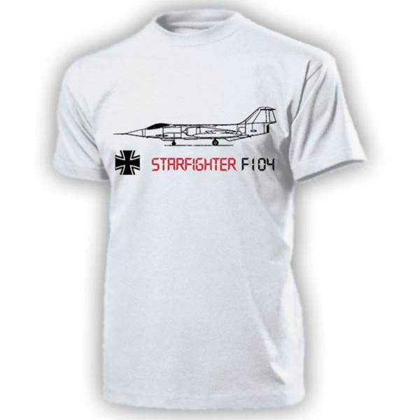 Starfighter F104 Sternenkämpfer Kampfflugzeug Bundeswehr - T Shirt #14260
