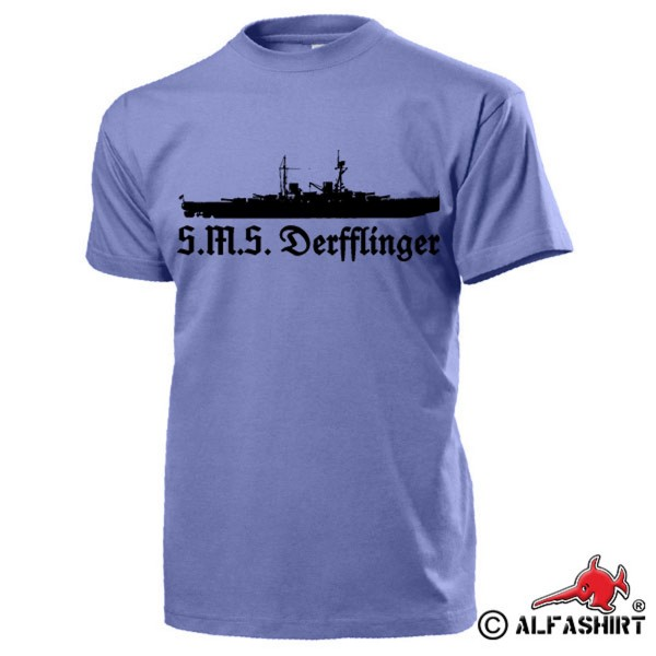 SMS Derfflinger Big Cruiser Battlecruiser Imperial - T Shirt # 15728