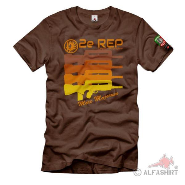 Thomas Gast 2e REP Retro More Majorum régiment étranger T-Shirt#36557
