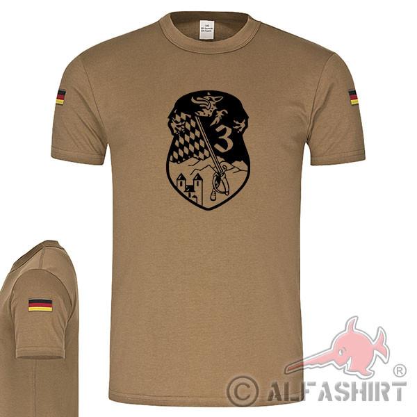 Feldwebel Unteroffizieranwärterbataillon 3 Fa-UA-Btl BW Tropenshirt #17548